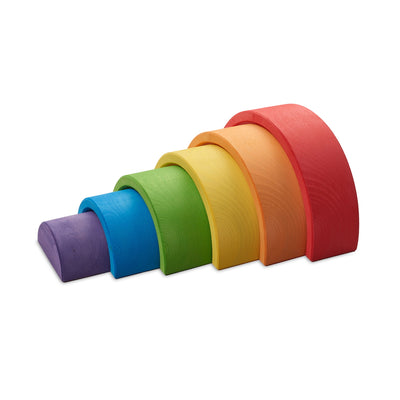 Ocamora 6 Piece Wooden Rainbow - Red PRE-ORDER MID/LATE SEPTEMBER