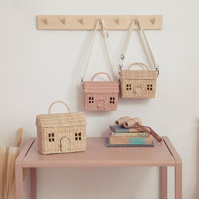 Olli Ella Casa Bag - Rose-Storage-BabyDonkie