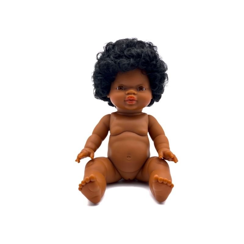 Paola Reina Gordis - FAITH - African Doll with Short Hair 34 cm