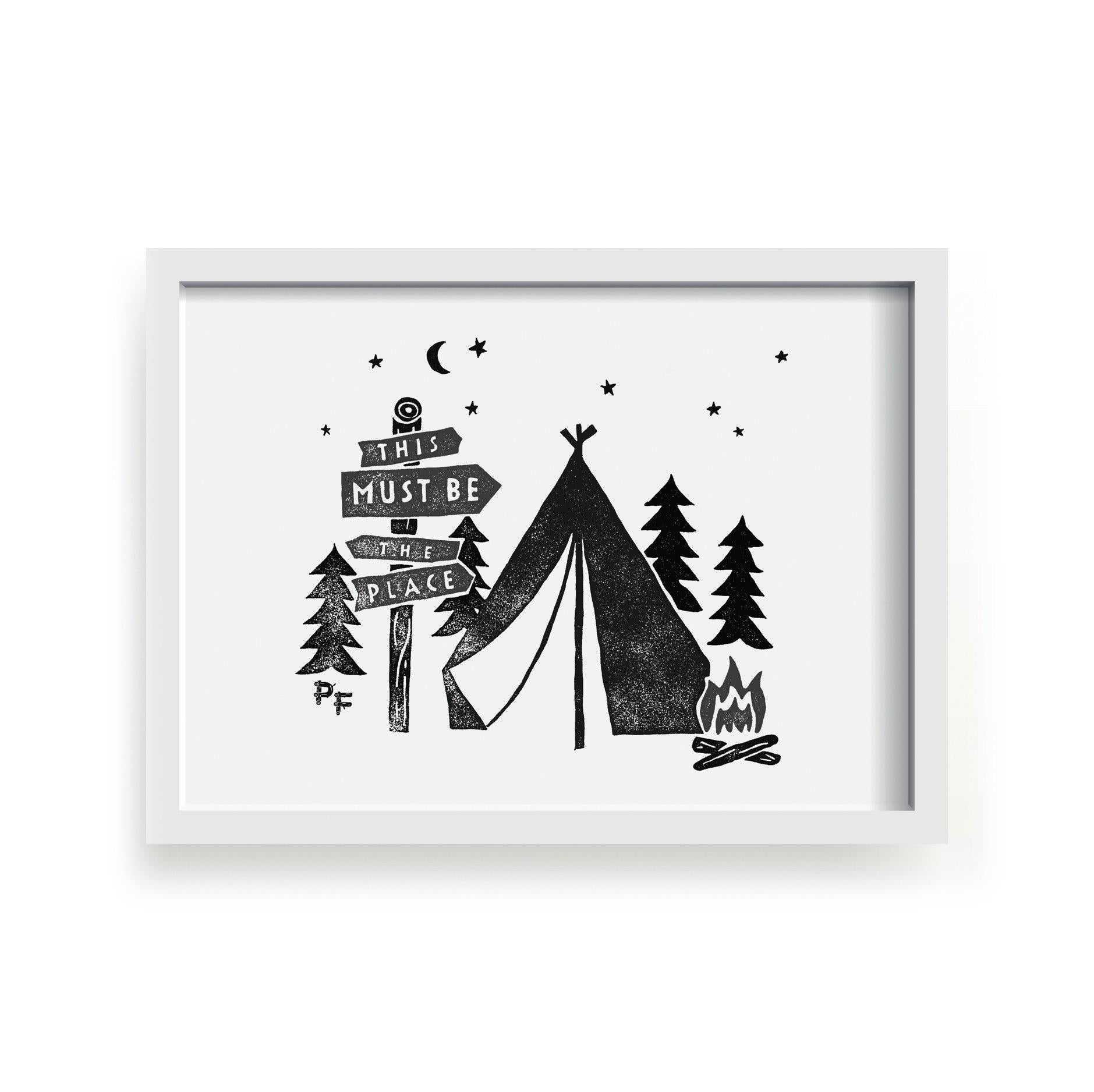 This Must Be The Place A3 Print