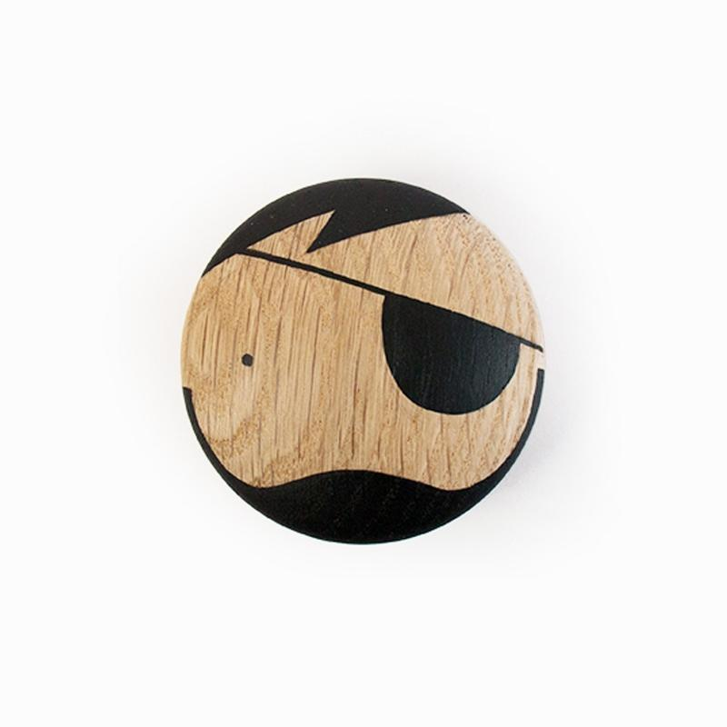 Lucie Kaas Sketch Inc Wall Hook Pirate