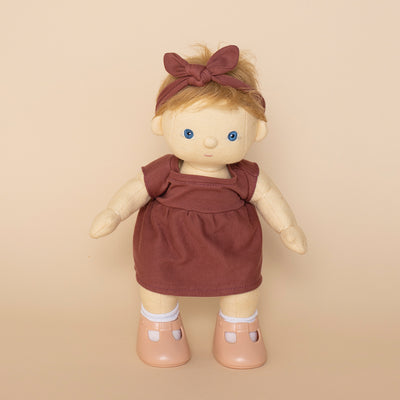Olli Ella - Doll Travel Togs - Rose PRE-ORDER Dec-Doll-BabyDonkie
