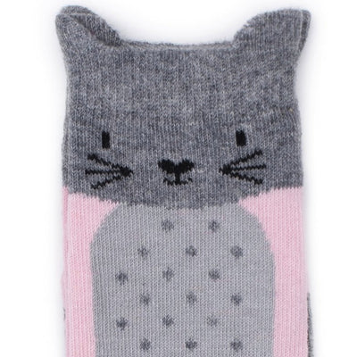 Billy Loves Audrey Kitty Socks-Clothing-BabyDonkie