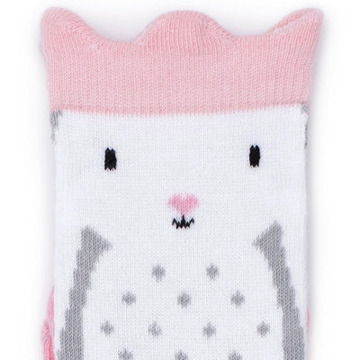 Billy Loves Audrey Rabbit Crown Socks-Clothing-BabyDonkie