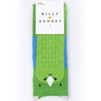Billy Loves Audrey Dino Socks-Clothing-BabyDonkie