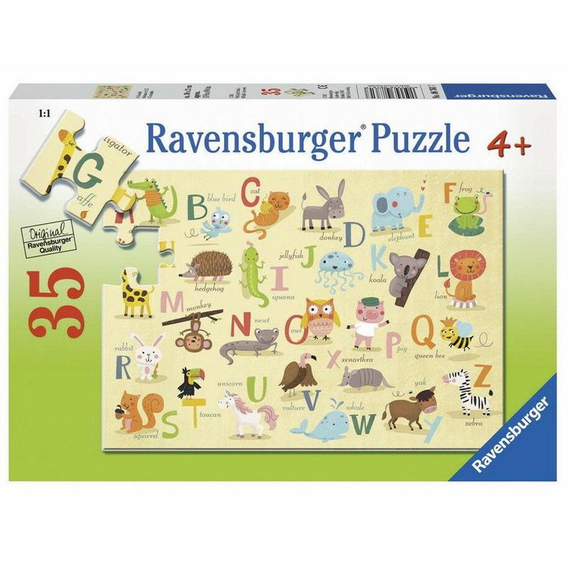 Ravensburger Puzzle - A-Z Animals Puzzle 35 pieces