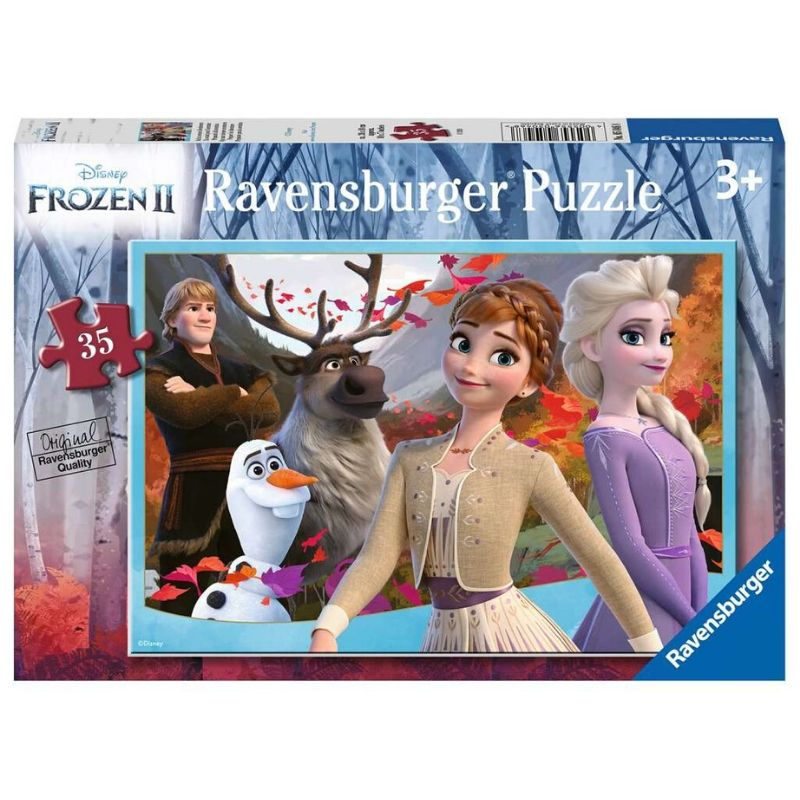 Ravensburger Puzzle - Frozen 2 Prepare for Adventure 35 pieces-Puzzle-BabyDonkie