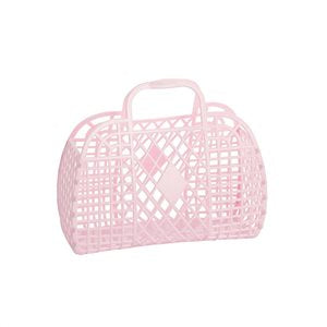 Sun Jellies Small Retro Basket - Pink