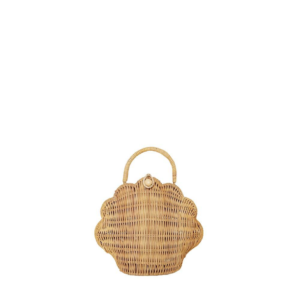Olli Ella Shell Bag / Purse - Straw
