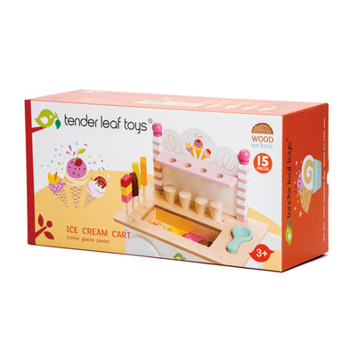 Tender Leaf Toys Ice Cream Cart-Toys-BabyDonkie