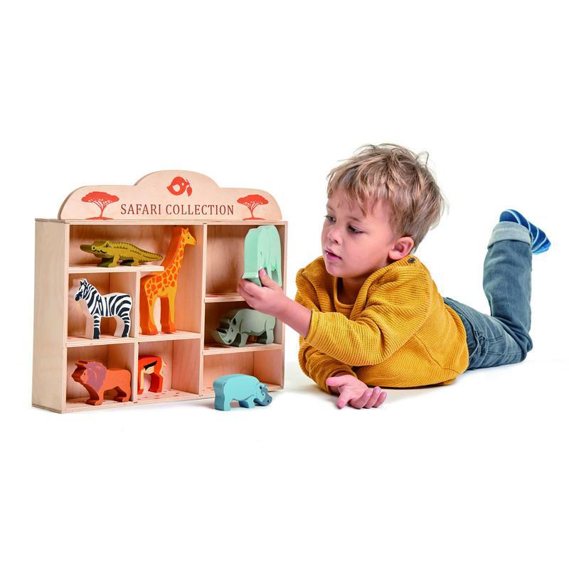 Tender Leaf Toys Wooden Safari Set