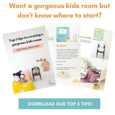 Top 5 Tips to Creating a Gorgeous Kids Room - Guide-Resources-BabyDonkie