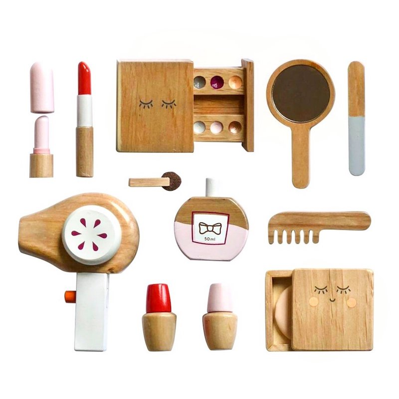 Make Me Iconic Wooden Beauty Kit-Toys-BabyDonkie