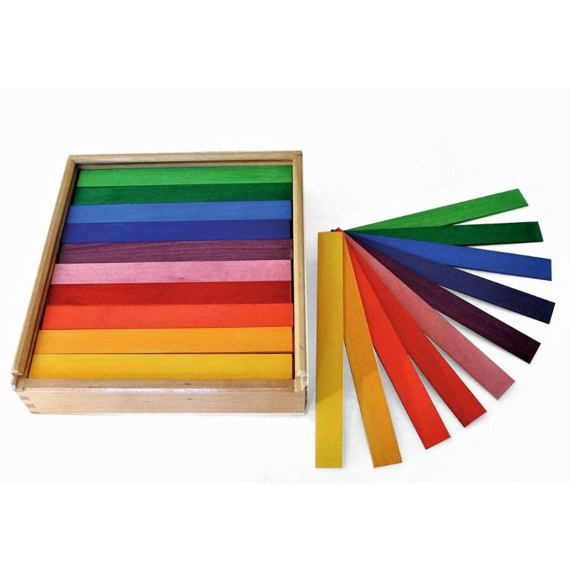 Bauspiel Coloured Rods