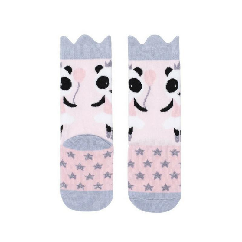 Billy Loves Audrey Panda Midi Socks-Clothing-BabyDonkie