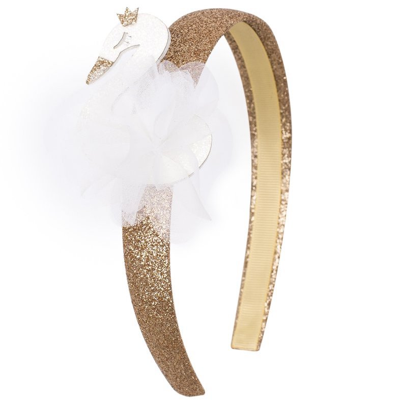 Billy Loves Audrey Swan Alice Headband-Accessories-BabyDonkie