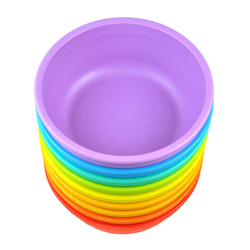 Replay 8 Piece Rainbow Set - Bowls-Dinnerware-BabyDonkie