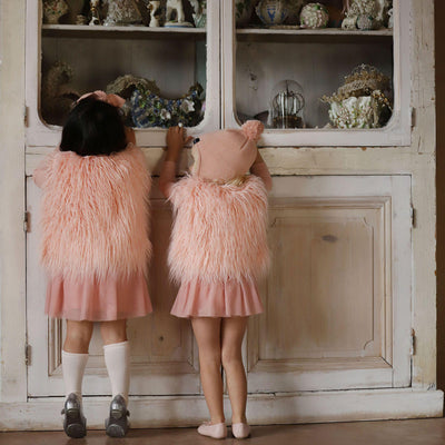 Kapow Kids Dusty Rose Girls Tutu Dress-BabyDonkie