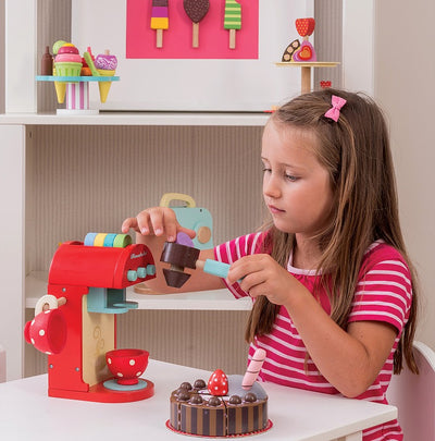 Le Toy Van HoneyBake Wooden Cafe Chococcino Machine-Toys-BabyDonkie