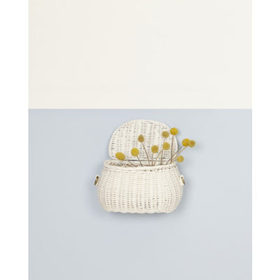 Olli Ella Minichari Bag - White-Storage-BabyDonkie