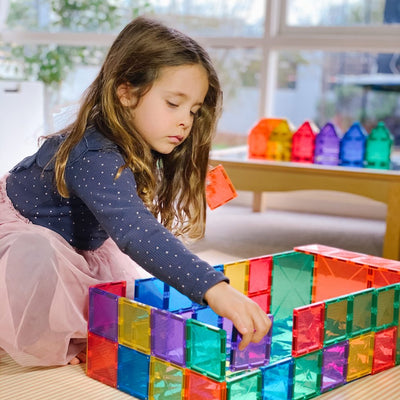 Connetix Tiles - Magnetic Building Tiles - 40 Piece Set Expansion Pack