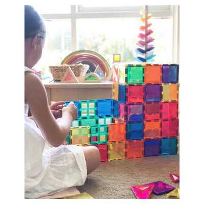 Connetix Tiles - Magnetic Building Tiles - 100 Piece Set PRE-ORDER LATE MAY-BabyDonkie