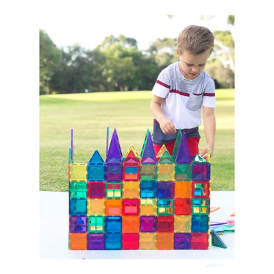 Connetix Magnetic Building Tiles - 100 Piece Set PRE-ORDER Early Dec-BabyDonkie