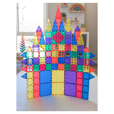 Connetix Tiles - Magnetic Building Tiles - 62 Piece Set-BabyDonkie