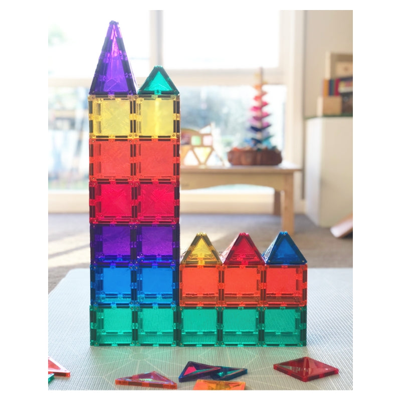 Connetix Magnetic Building Tiles - 100 Piece Set PRE-ORDER Early Dec