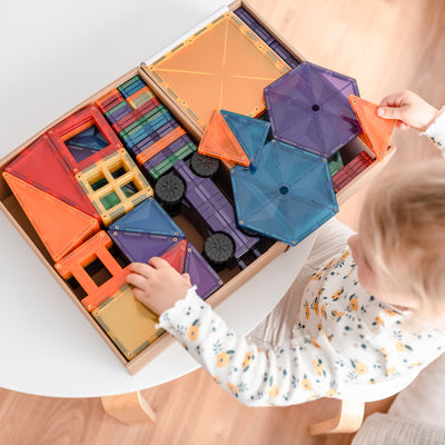 Connetix Tiles - Magnetic Building Tiles - Mega Pack 212 Piece Set PRE-ORDER LATE JAN/ EARLY FEB 2021-BabyDonkie