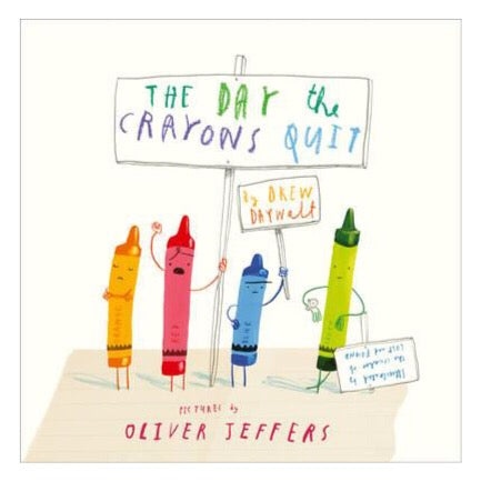 The Day The Crayons Quit by Oliver Jeffers-Book-BabyDonkie
