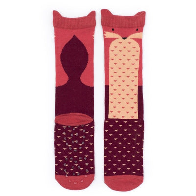 Billy Loves Audrey Fox Socks-Clothing-BabyDonkie