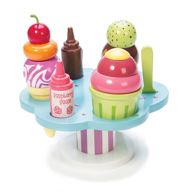 Le Toy Van HoneyBake Wooden Carlo's Gelato Stand-Toys-BabyDonkie