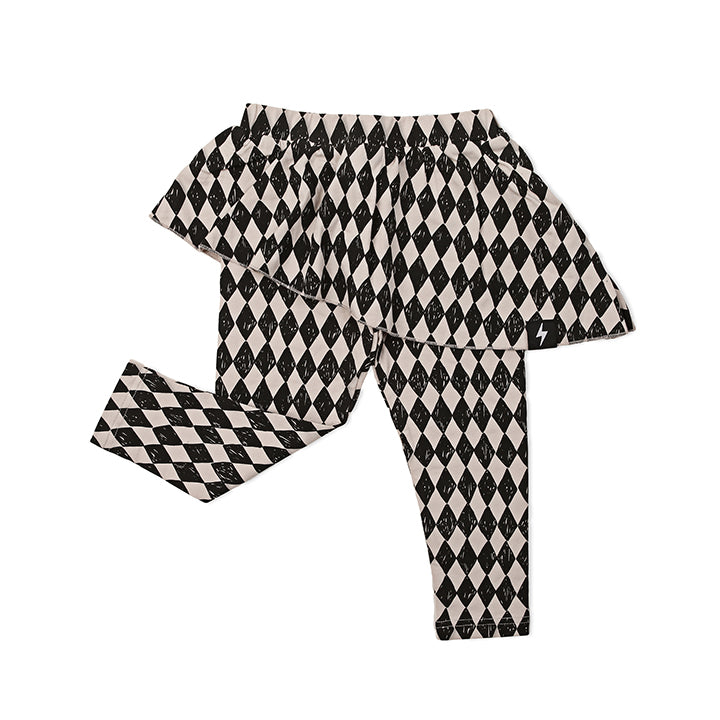 Kapow Kids Harlequin Skeggings-Clothing-BabyDonkie