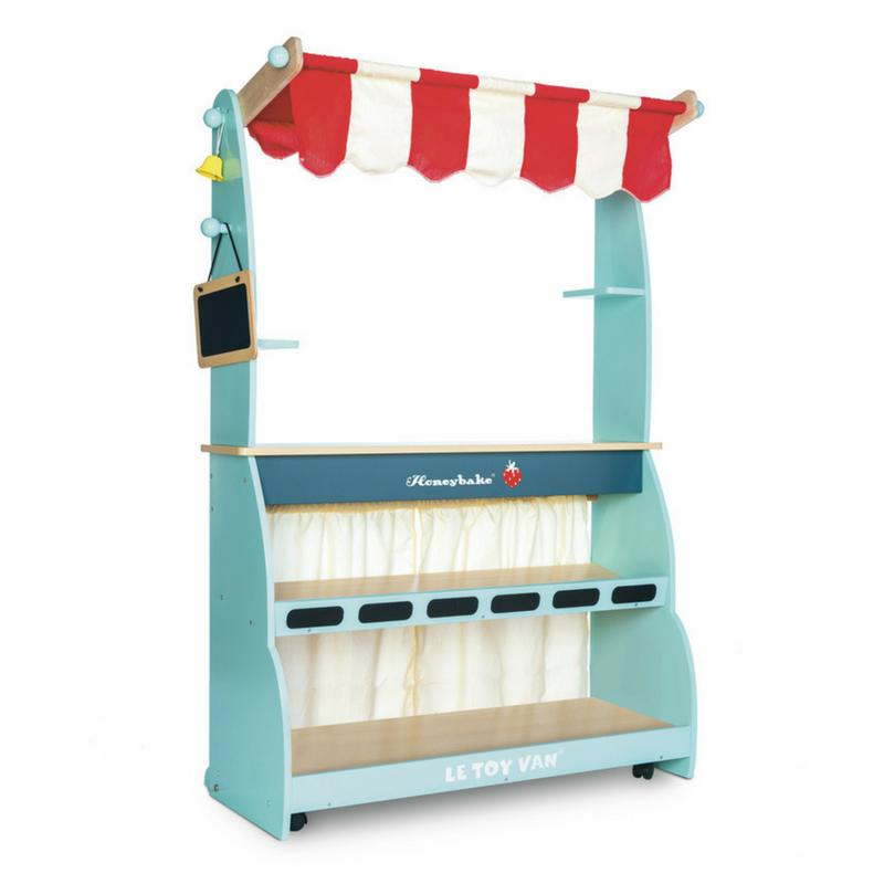 Le Toy Van Honeybake 2 in 1 Shop & Cafe-Toys-BabyDonkie