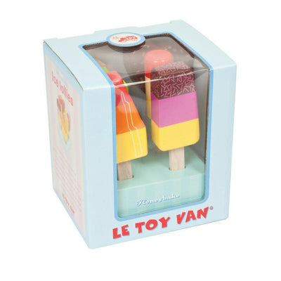 Le Toy Van HoneyBake Wooden Ice Lollies-Toys-BabyDonkie