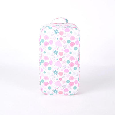 Love Mae Cooler Bag with Ice Brick - Floral-Accessories-BabyDonkie
