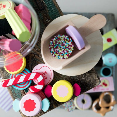 Make Me Iconic Wooden Candy Jar-Toys-BabyDonkie
