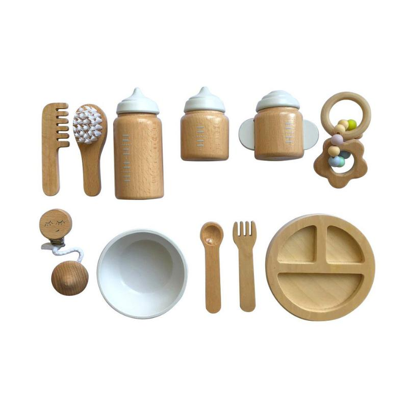 Make Me Iconic Wooden Baby Doll Accessories Kit-Toys-BabyDonkie