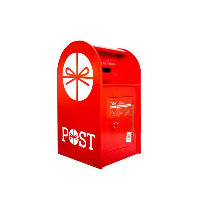 Make Me Iconic Wooden Post Box-Toys-BabyDonkie
