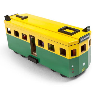 Make Me Iconic Wooden Toy Tram-Toys-BabyDonkie
