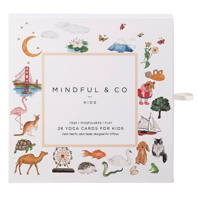 Mindful & Co Kids Yoga Flash Cards