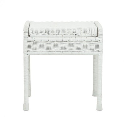Olli Ella Storie Stool - White-Furniture-BabyDonkie