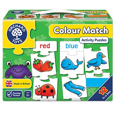 Orchard Toys - Colour Match Jigsaw Puzzle-BabyDonkie