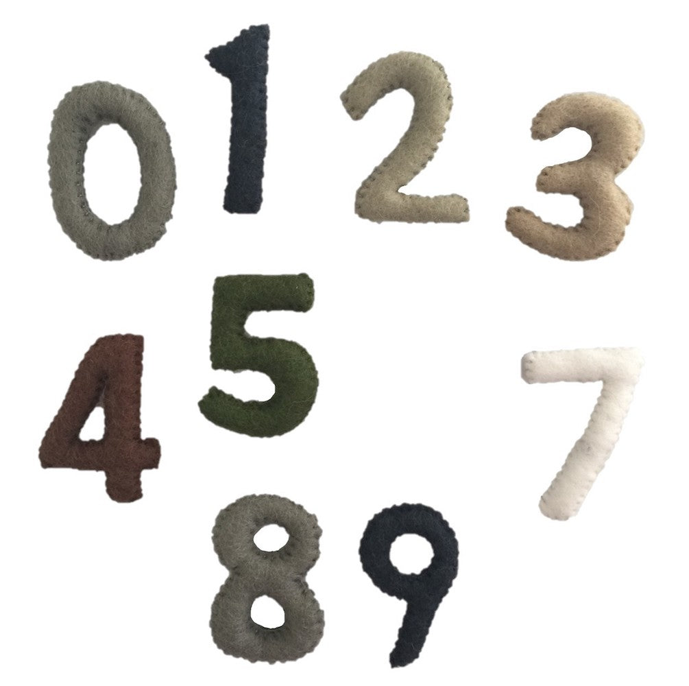 Papoose Toys - Numbers Natural 0-9