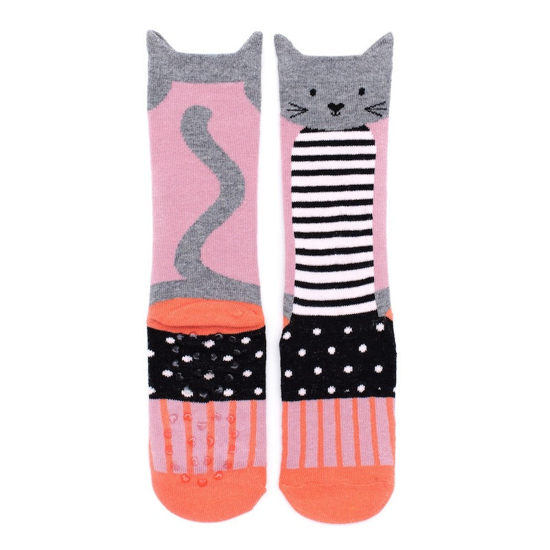 Billy Loves Audrey Paris Cat Socks-Clothing-BabyDonkie