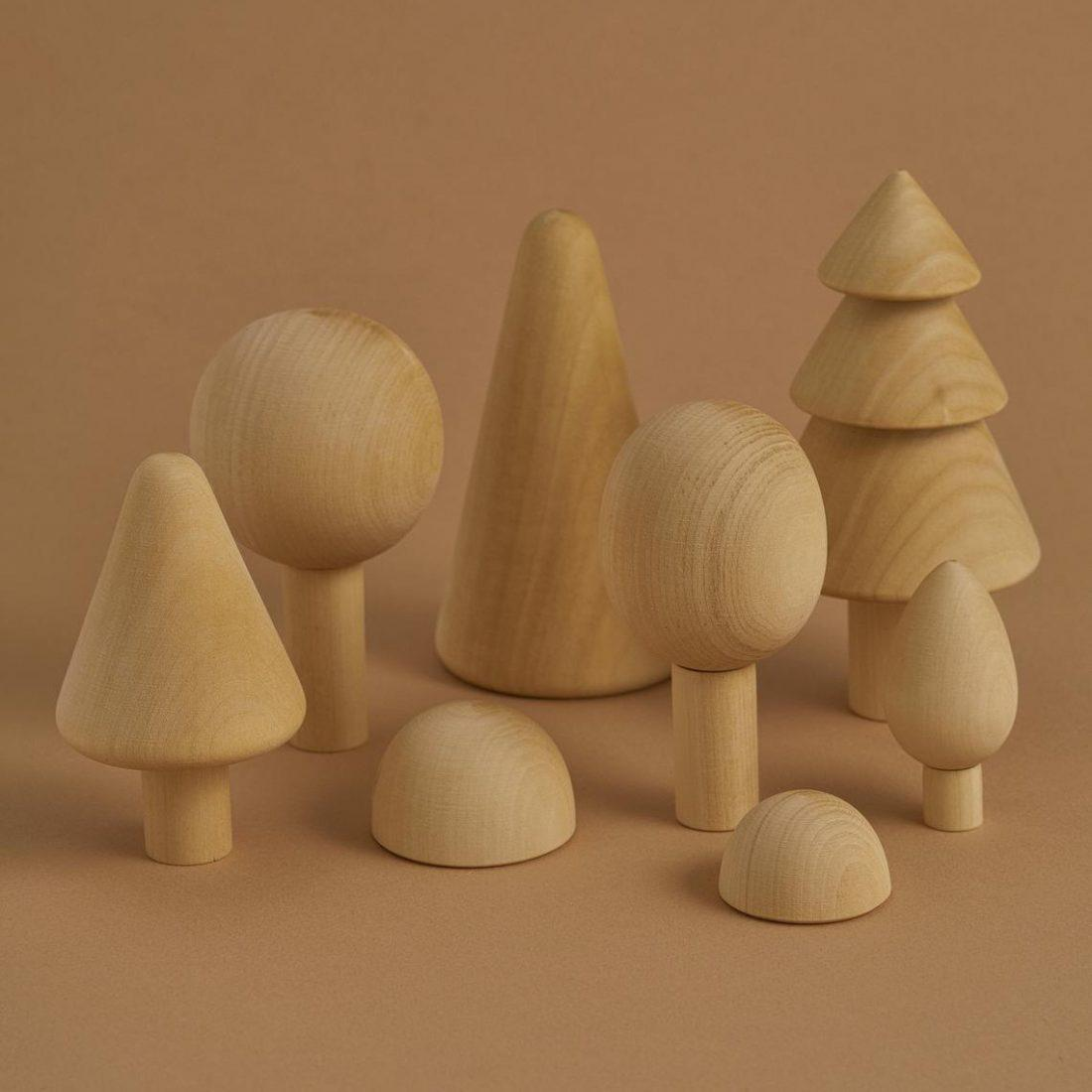 Raduga Grez Wooden Forest Set - Natural-Toys-BabyDonkie