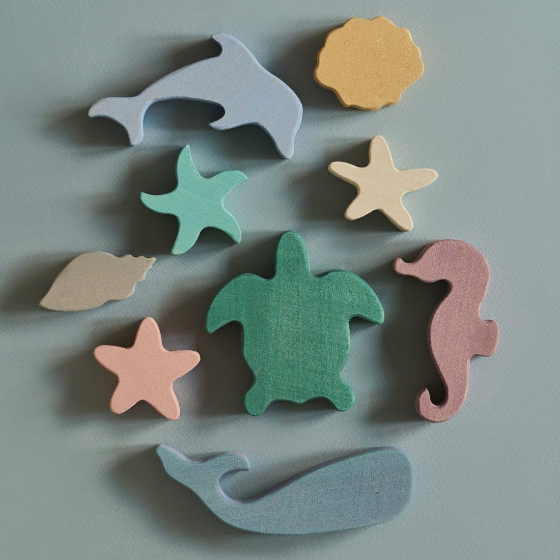 Raduga Grez Wooden Sea Animals