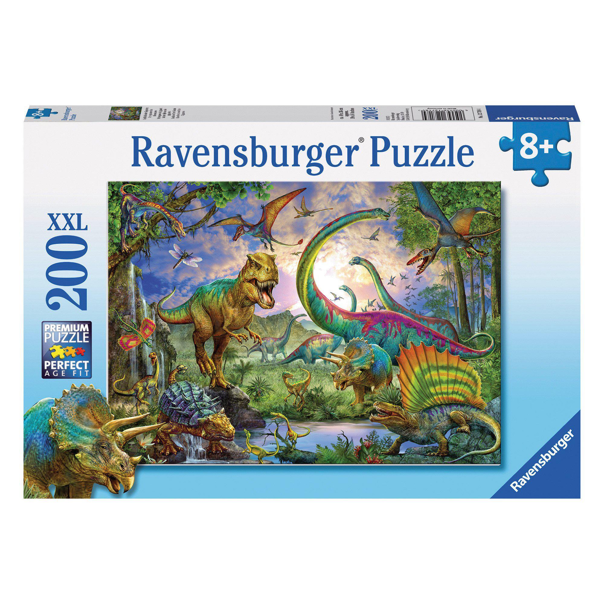 Ravensburger Puzzle - Realm of the Giants Dinosaurs Puzzle 200 pieces-Puzzle-BabyDonkie