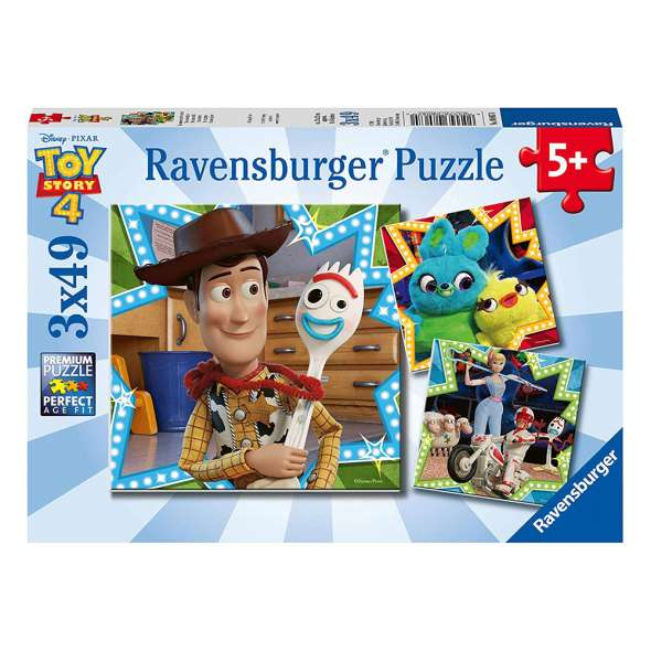 Ravensburger Puzzle - Disney Toy Story 4 Puzzle 3x49 pieces-Puzzle-BabyDonkie